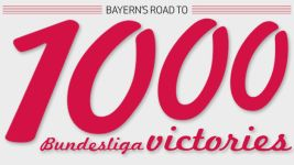 Infographic: Bayern's road to 1000 Bundesliga wins