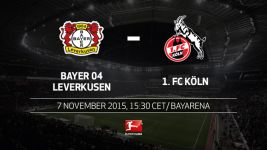 Leverkusen entertain neighbours Köln in Rhine derby