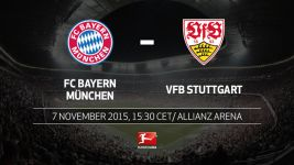 Southern derby time for Bayern and Stuttgart