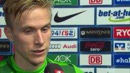 Wendt: 'We won the ball in good positions'