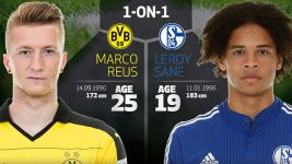 1-on-1: Reus vs Sane