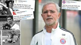 The football world congratulates Gerd Müller | 70th Birthday