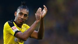 Injury scare for Dortmund forward Aubameyang