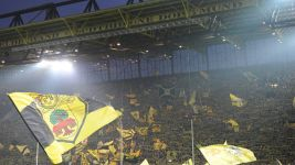 Dortmund's famous Yellow Wall