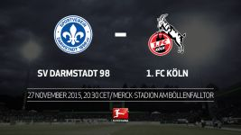 Köln face Darmstadt with top six in sight