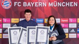 Lewandowski enters Guinness World Record Books
