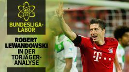 Infografik: So trifft Robert Lewandowski
