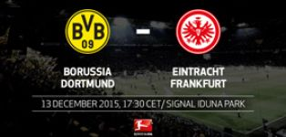 Dortmund out to keep up the chase when Frankfurt come calling