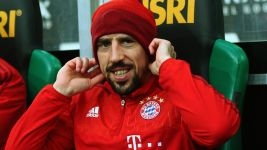 Returning Ribery Bayern's ray of sunshine on a cloudy day in Gladbach