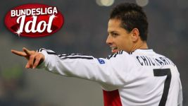 Bundesliga Idol Chicharito says thank you!