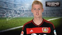 Shoot! Julian Brandt