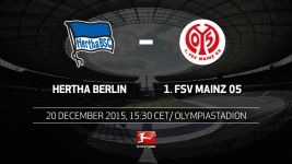Hertha out to finish on a high note against Mainz