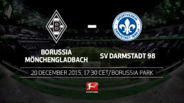 Wounded Gladbach aiming to bounce back against Darmstadt