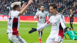 Chicharito praises Leverkusen collective