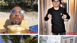 Bundesliga stars on holiday