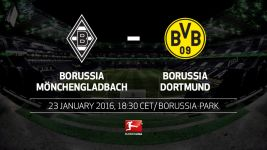 Gladbach host Dortmund in battle of the Borussias