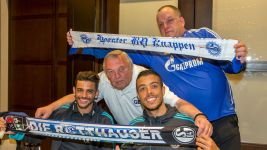 Schalke honour 'unique' support from both sides of the Atlantic