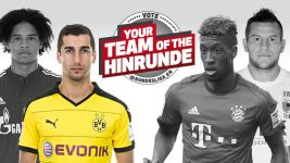 Right winger of the Hinrunde: Henrikh Mkhitaryan
