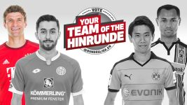 Attacking midfielder of the Hinrunde: Müller edges out Kagawa