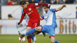 Chicharito promises Leverkusen improvement after draw with Hoffenheim
