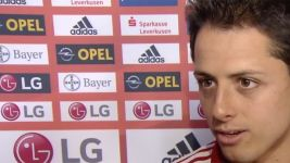 Chicharito: 'I'm thankful to the coach'