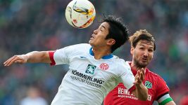 Mainz's Muto ruled out with knee injury