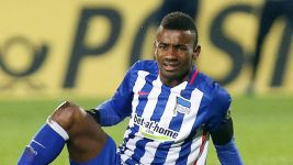 Hertha's Kalou ruled out of Stuttgart clash