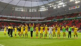 Dortmund with all to play for after Leverkusen win