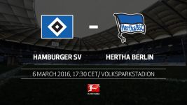 High-flying Hertha have high hopes in Hamburg