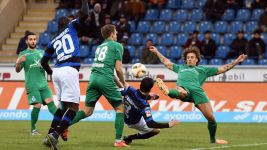 Duisburg strike late to claim point in Frankfurt