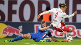 Leipzig come from behind to beat battling Heidenheim