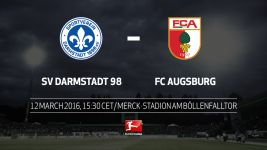 Darmstadt host Augsburg in relegation six-pointer