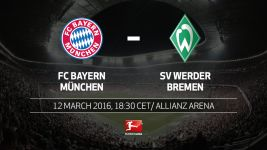 Bayern look to bounce back when Bremen come calling