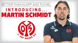 Mainz coach Martin Schmidt: better than Klopp and Tuchel