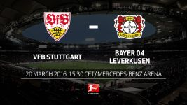 Points on the agenda for Stuttgart and Leverkusen