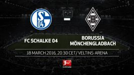 Gladbach out to defend fourth place against Schalke