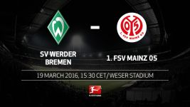 Bremen play host to high-flying Mainz