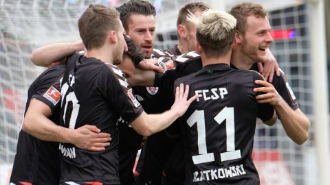 Pauli get promotion push back on track in Sandhausen