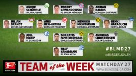 MD27: Team of the Week
