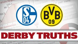 Infographic: Revierderby truths - Schalke vs Dortmund