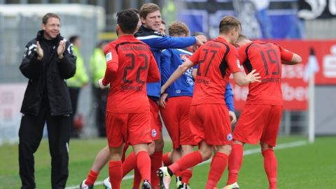 Arminia Bielefeld seal much-needed win at Sandhausen