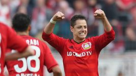 Chicharito: 'I'm very happy here'