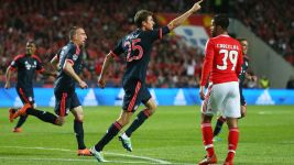 Bayern oust Benfica to reach Champions League semis