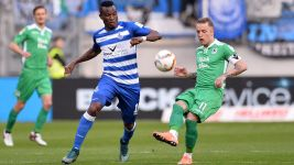 Duisburg record crucial win over fellow strugglers 1860 Munich