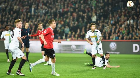 Previous meeting: Hannover 2-0 Gladbach