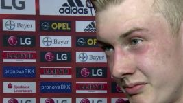 Leverkusen's Brandt: 'Things look great in the table'