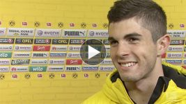 Pulisic: 'Very excited to score!'