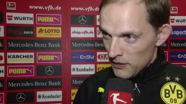 "Dortmund coach Tuchel: ""It was hard work"""