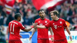 Mario Götze, Manuel Neuer on Hertha win and Atletico Madrid test