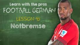 Football German: Lesson 15